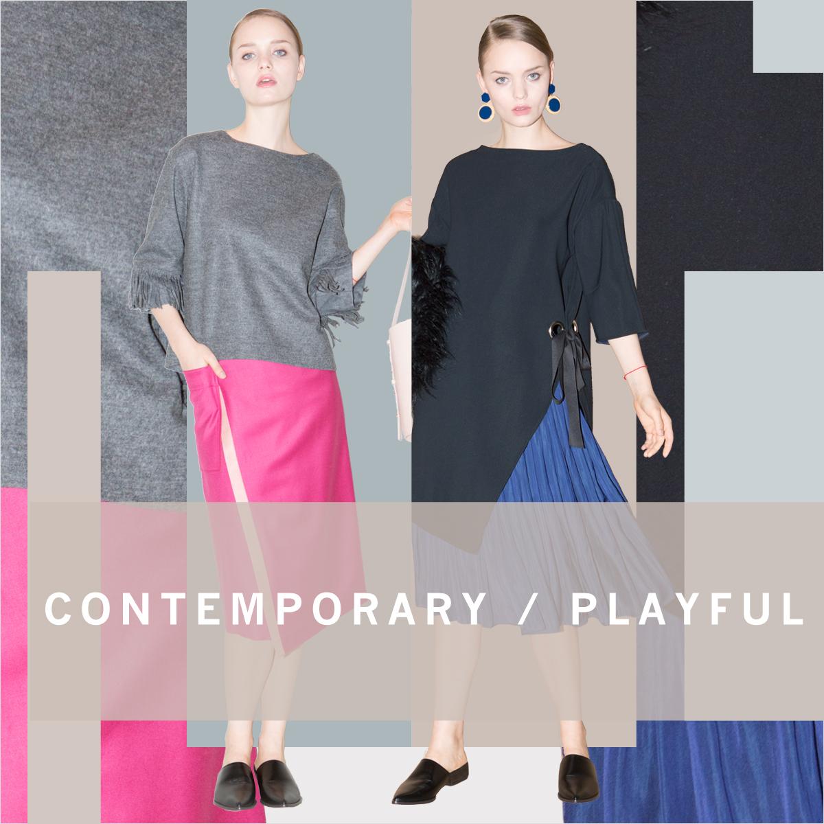 CONTEMPIRARY / PLAYFUL